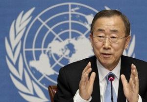 Пан Ги Мун обвинил Совбез в бездействии в Сирии