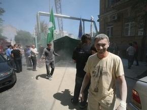 Киевские активисты выйдут на митинг против строительства дома по улице Гончара