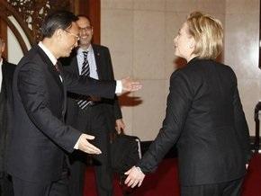 США хотят углубить отношения с Китаем, заявила Клинтон