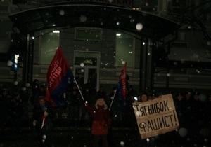 В Николаеве подрались сторонники Тягнибока и активисты Блока Витренко