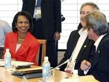 Кондолиза Райс покорила министров G8 своим нарядом