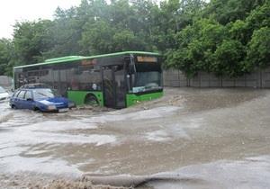 новости Харькова - потоп - наводнение - Харьков затопило после сильных дождей
