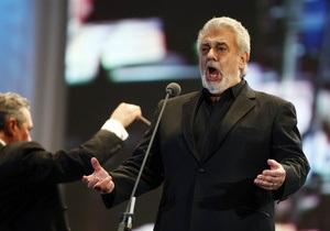 УП: Концерт Пласидо Доминго в Киеве отменен