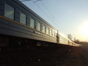 Поезд Санкт-Петербург - Днепропетровск насмерть сбил человека