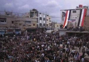 Волнения в Сирии: правозащитники заявляют о 450 погибших