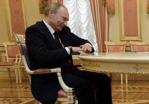 Фотогалерея: Многообещающий Путин. Премьер России провел переговоры с Януковичем и Азаровым