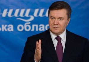 Янукович отчитался о росте поступлений в ПФ и улучшении экономической ситуации