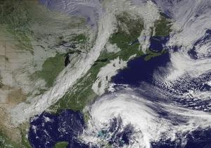 Сэнди наносит США первые удары: в Нью-Йорке ветер сломал кран на стройке небоскреба. Атлантик-Сити уходит под воду