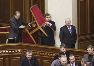 ВВС Україна: Чем запомнился старый парламент