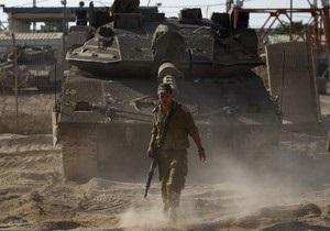 Из сектора Газа продолжается обстрел Израиля