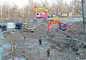 СМИ: Вертолетная площадка для Януковича будет готова весной