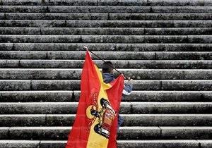 Объем вкладов в банках Испании за два месяца сократился на 74 млрд евро - ЕЦБ