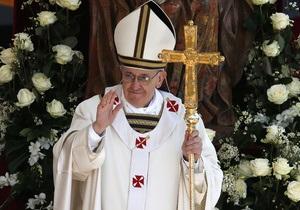 Предпасхальную мессу Папа Римский отслужит в тюрьме для несовершеннолетних
