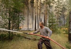 Пожары в Днепропетровской области удалось потушить