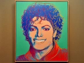 Портрет Джексона кисти Уорхола продали за несколько миллионов долларов