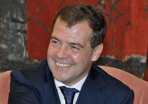 Медведев очень рад посетить Харьков, где  сто лет не был