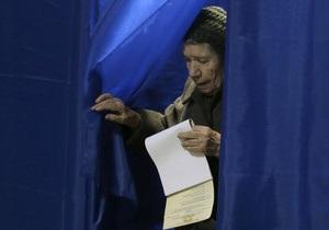 КИУ: Слепую женщину, хотевшую проголосовать  за Юлю , пытались вынудить поставить отметку за ПР