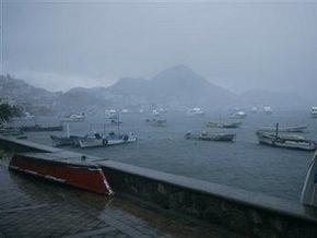 Над Мексикой сформировался первый в сезоне ураган