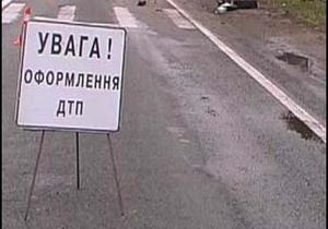 В Закарпатской области произошло ДТП, один человек погиб и семь госпитализированы