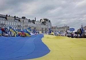 Участники акции на столичной Софийской площади мирно расходятся