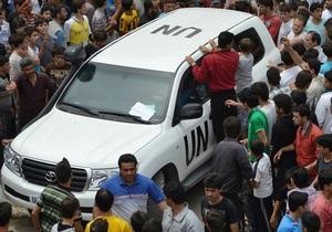 СМИ: У главы экспертной миссии ООН в Сирии мало шансов остаться в живых