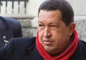 Уго Чавес прибыл в Украину