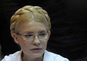 Пресс-секретарь Тимошенко заявляет об ухудшении состояния здоровья экс-премьера
