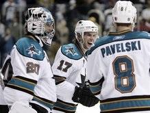 NHL: Победная серия Акул достигла десяти матчей