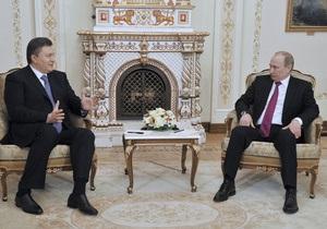 Янукович - Путин - газовый вопрос - Левочкин рассказал, о чем в понедельник будут говорить Янукович и Путин
