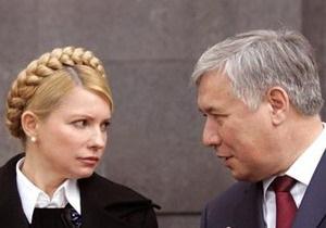 Тимошенко вступила в словесную перепалку с Ехануровым