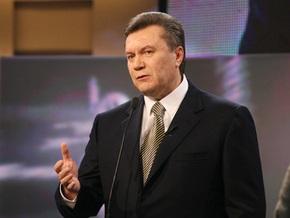 Янукович убежден, что европейская цена на газ станет крахом для украинской экономики