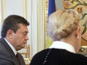 Янукович: Переговоры с БЮТ приостановлены