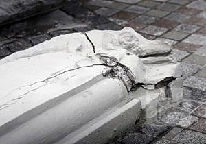 В Киеве начал разваливаться Дом с химерами