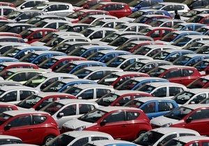 Продажа авто - В Украине обрушились продажи новых легковых автомобилей