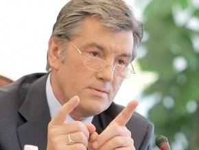Ющенко заявил, что сегодня коалиция БЮТ и ПР возможна, как никогда