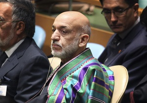 Карзай призвал ООН отменить санкции против Талибана