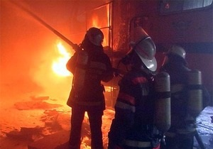 В Киевской области при пожаре погибли пять человек, среди жертв есть дети