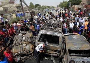 В Ираке не прекращаются теракты. Два взрыва возле суннитской мечети унесли жизни 30 человек
