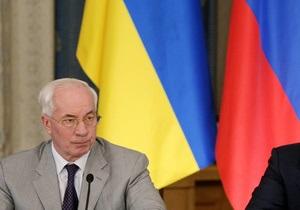 Азаров и Медведев в Ялте не договорились об отмене утилизационного сбора - источник