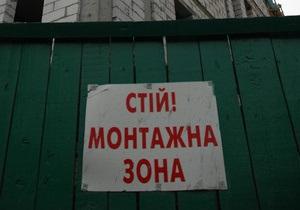 Жители Киева перекрыли улицу Костельную