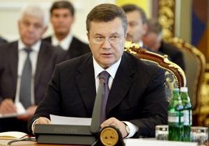 Янукович сменил луганского губернатора