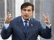 Саакашвили будет вести переговоры с Москвой только после вывода российских войск