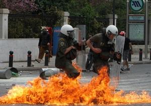 Афины охвачены беспорядками: в городе вспыхнули новые пожары