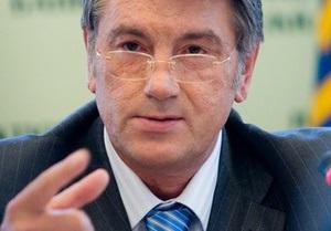 Ющенко не будет подписывать письмо намерений к МВФ