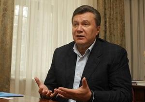 Янукович сообщил Ъ, что не будет предоставлять русскому языку государственный статус