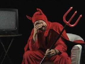 В США церковь использует образ сатаны в своей рекламе