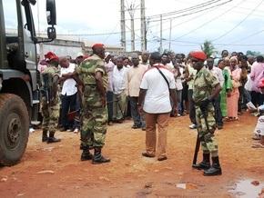 После оглашения итогов выборов в Габоне начались погромы под лозунгом Бей французов!