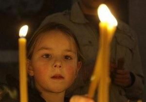 Православные христиане отмечают Великую субботу