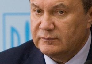 Янукович еще не определился с подписанием закона о введении биометрических паспортов