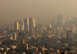 Над столицей Аргентины Буэнос-Айресом образовалось токсичное облако